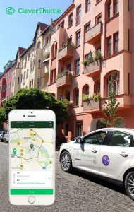 CleverShuttle E-Mobility Share a ride for urban mobility
